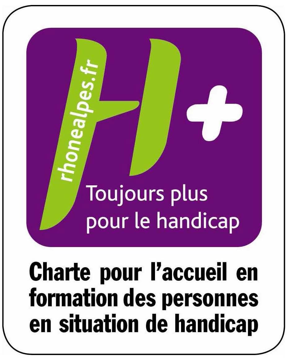 Notre engagement dans la démarche qualitative d'accueil en formation des personnes en situation de Handicap H+